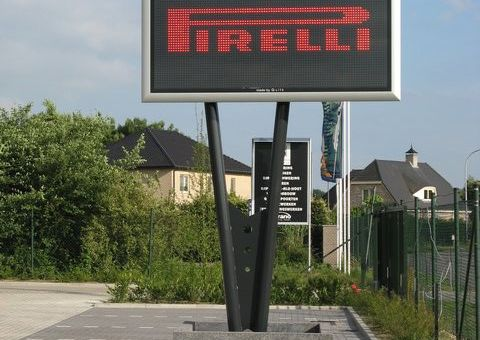 led reclamebord van Infoled, vast led scherm